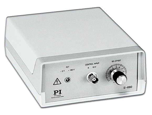 Physik Instrumente low voltage PZT amplifier.